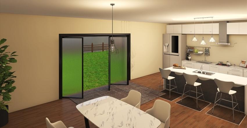 First house Interior Design Render