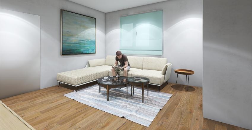 ADELAMARIA  SALA ESCUADRA Interior Design Render