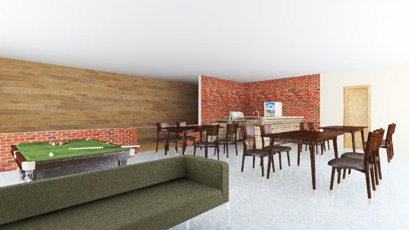 area de festas 2 Interior Design Render