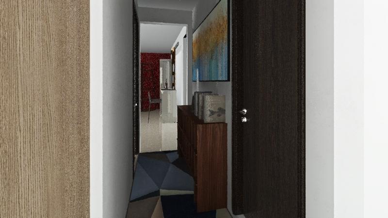 Apto. plano n°2  bct.3 Interior Design Render