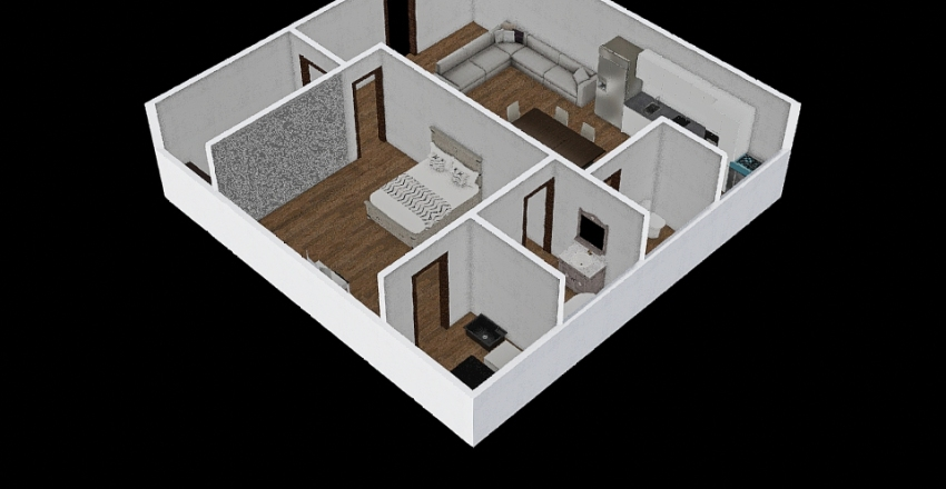 Casa BB Interior Design Render