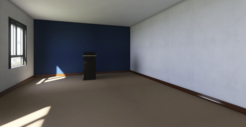 press room Interior Design Render