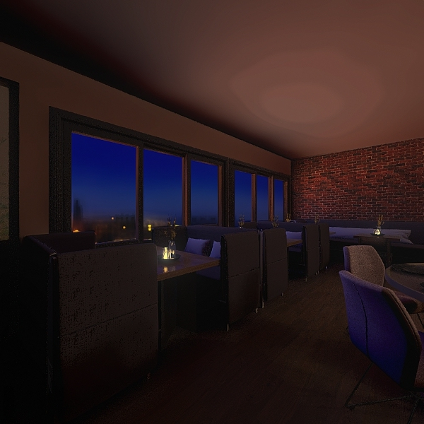 Our Bar3 Interior Design Render