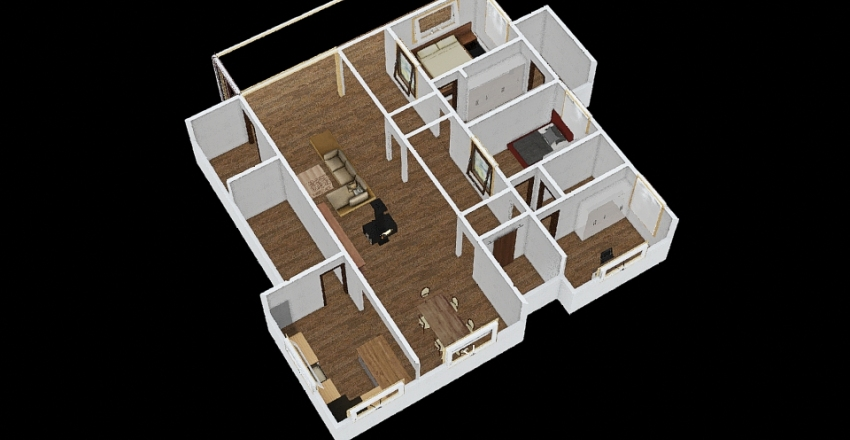 GGG Modeling Interior Design Render