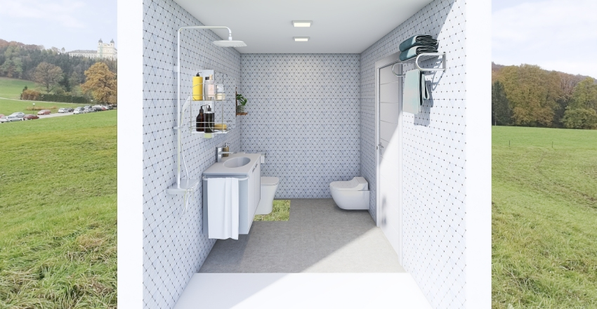 BAÑO SUITE - SERGIO Interior Design Render
