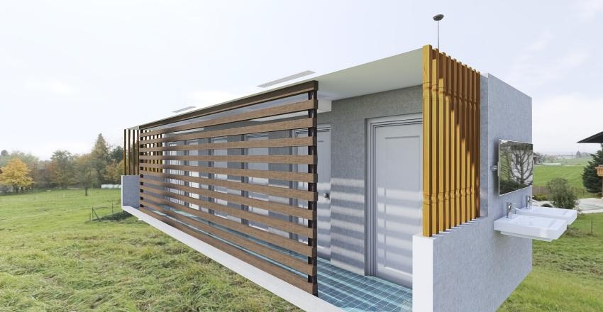 ห้องน้ำ รร.บ้านศรี Interior Design Render