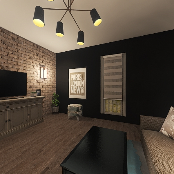 First Project Interior Design Render