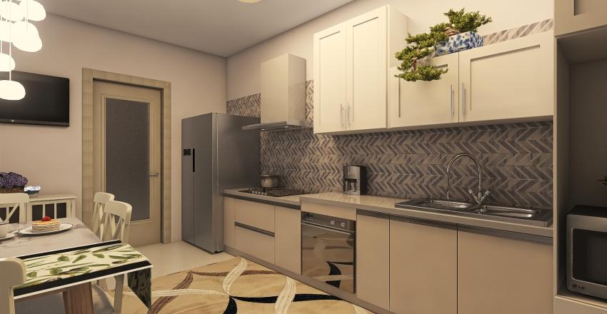 My parent's apartment Interior Design Render