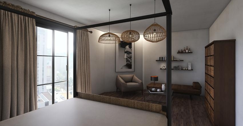Cool'n'Cozy Interior Design Render