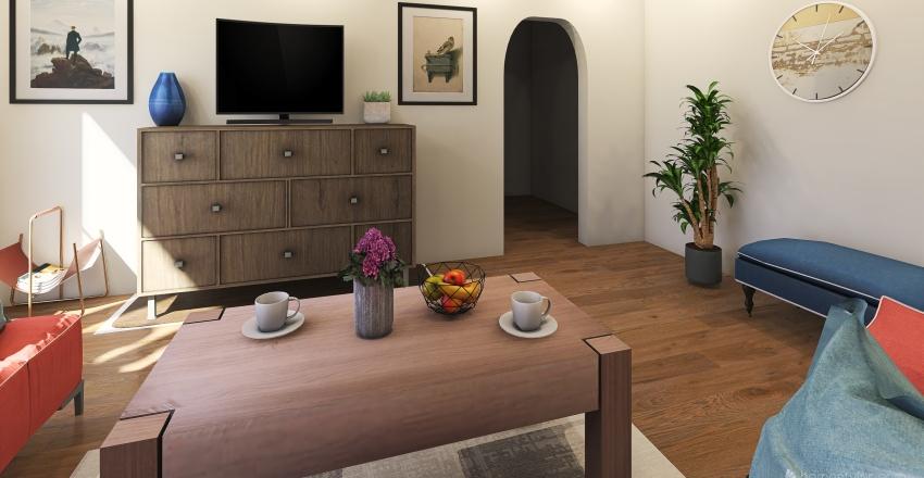 Pani Halina Interior Design Render