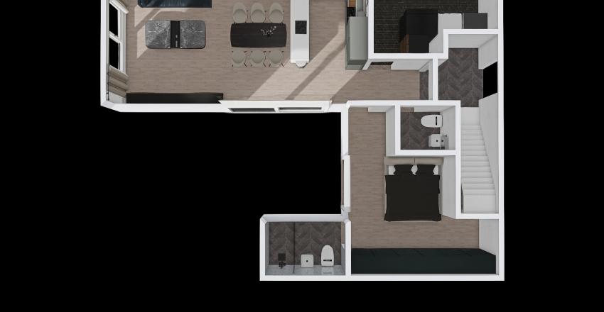 10 03 1층 수정 Interior Design Render