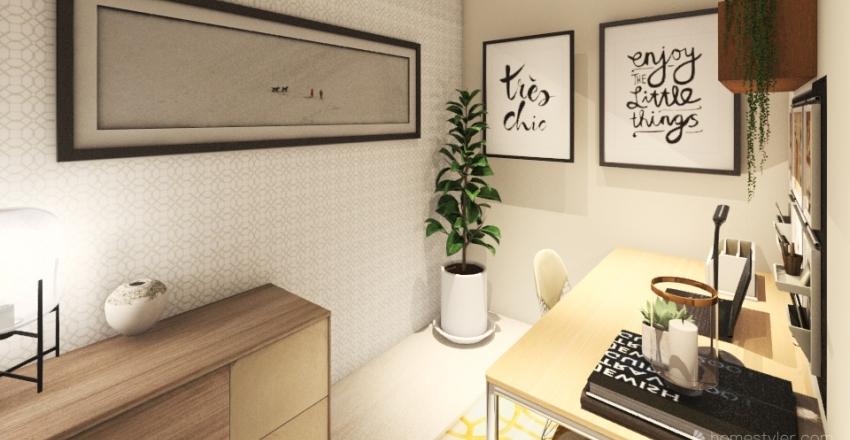 Ashleigh's New Office Interior Design Render