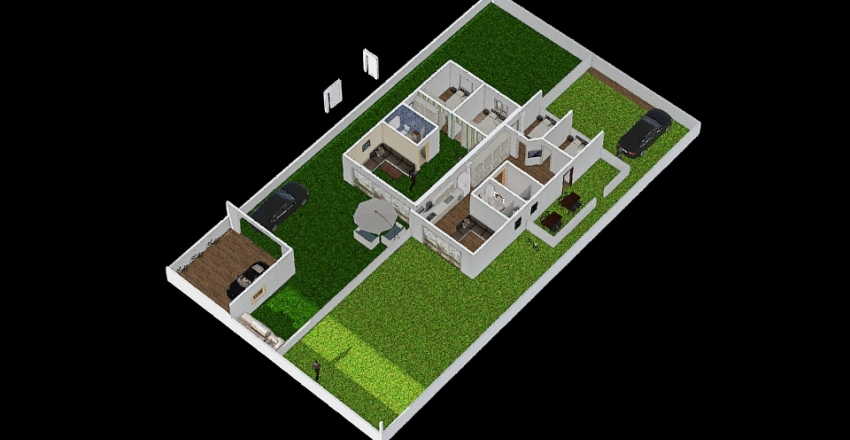 Nyaraló_5_T1 Interior Design Render
