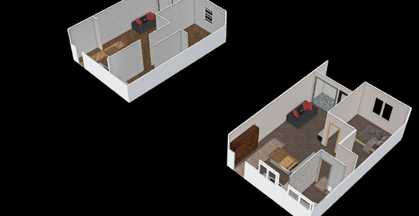 #403-2 Interior Design Render