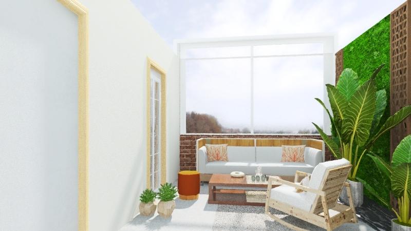 6سطح عهود Interior Design Render