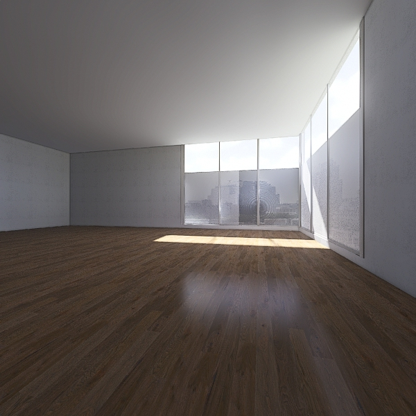 FUFU HOUSE Interior Design Render