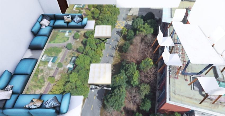 LANDS END LIVING RM Interior Design Render