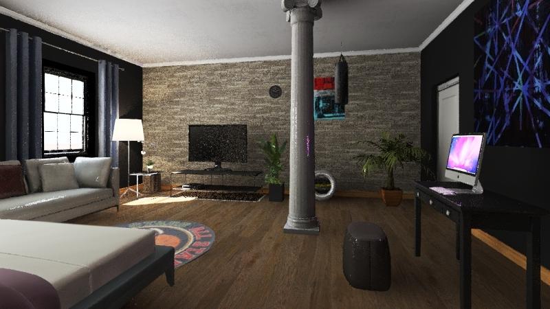 Nike 2879 Interior Design Render