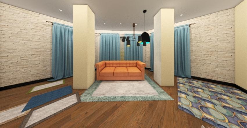 План квартиры №3.1. Interior Design Render