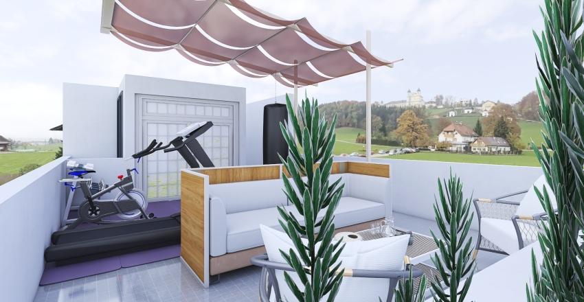 terraza suagui Interior Design Render