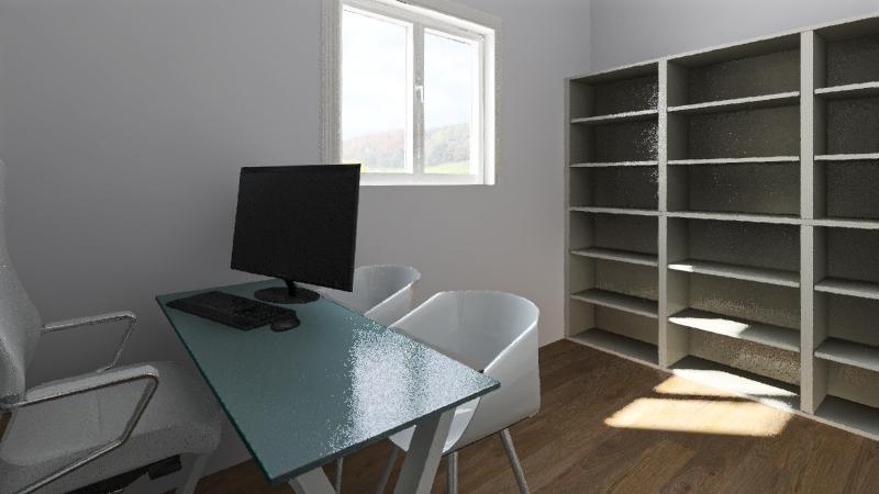 Escritorio 2.0 Interior Design Render