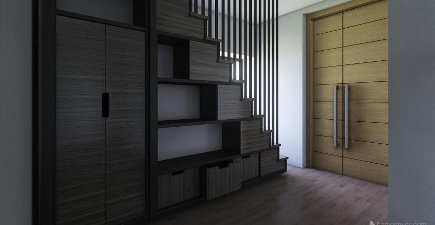 Casa Rus parter  Interior Design Render