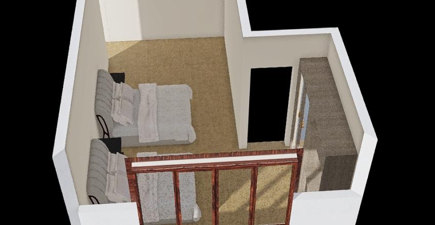 Suíte QSD Interior Design Render