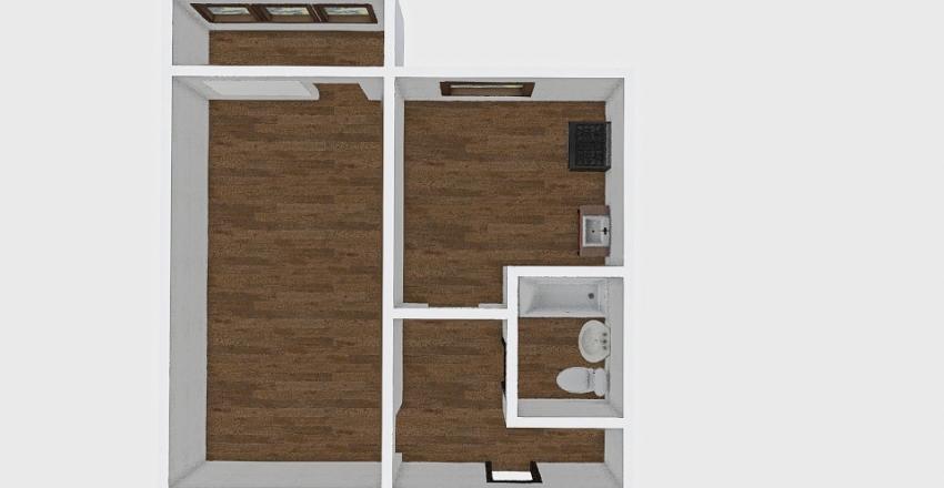 1-комн_0231_2 Interior Design Render