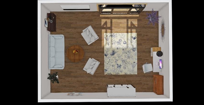 кабінет Interior Design Render