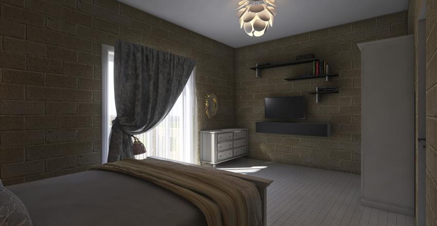 palm court mark Interior Design Render