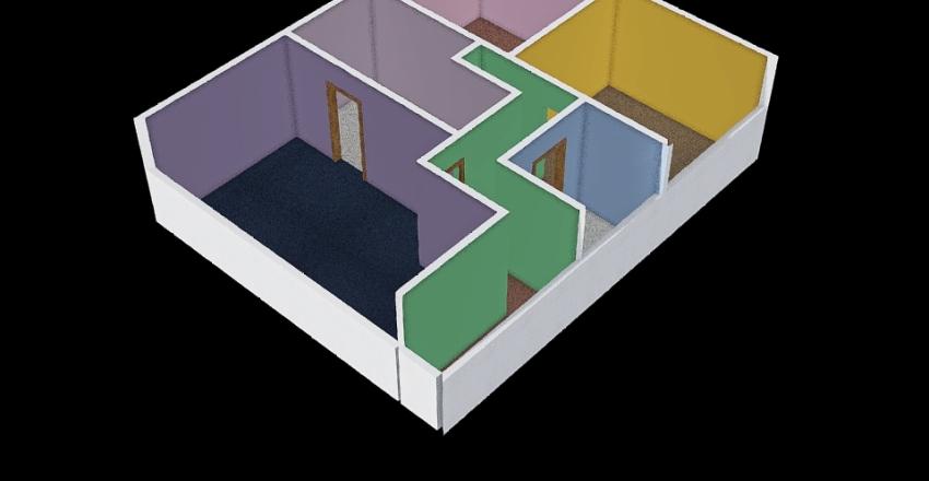Brad and Jenny's Home Interior Design Render