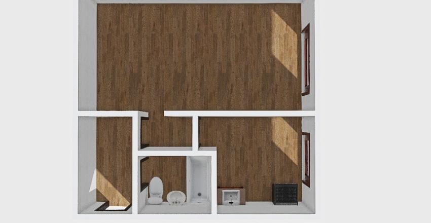 1-комн_010_24 Interior Design Render