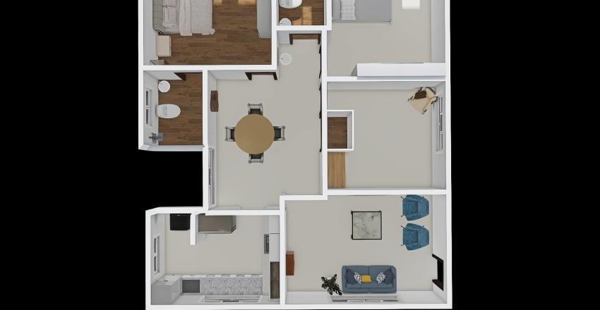 Aryav #301 - shared Interior Design Render