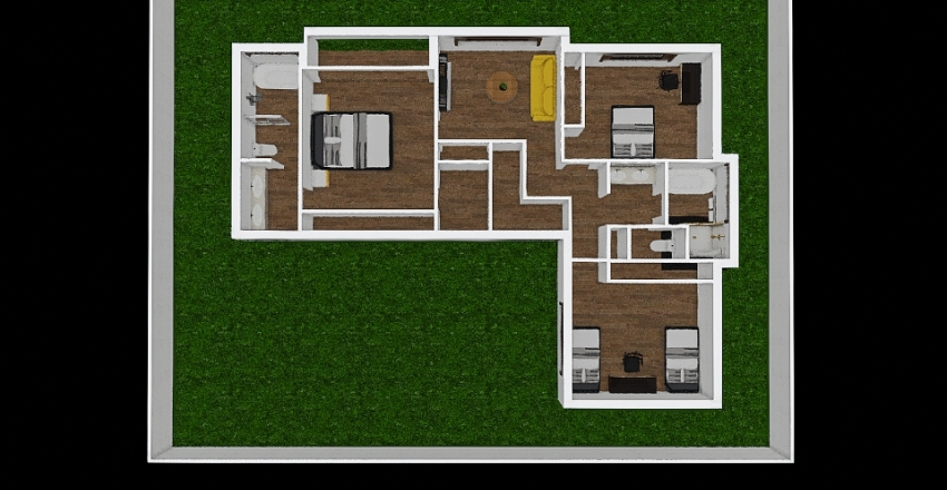 lionel FF35 Interior Design Render