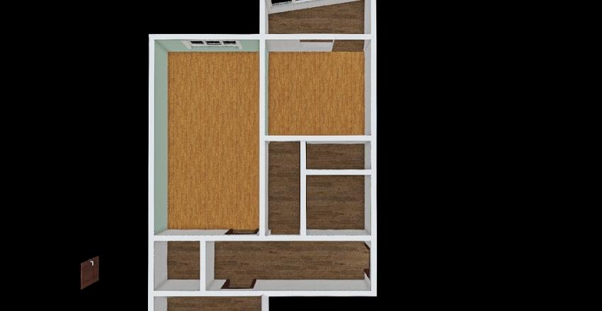 Sasha Tanya super flat Interior Design Render