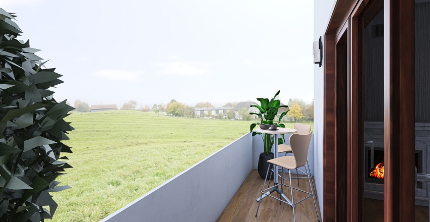 Via Tito Livio Bergamo Interior Design Render