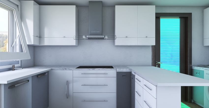 Douglas Park Kitchen 06-10-20 Interior Design Render