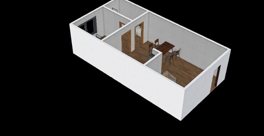 Maquete ergonomia Interior Design Render