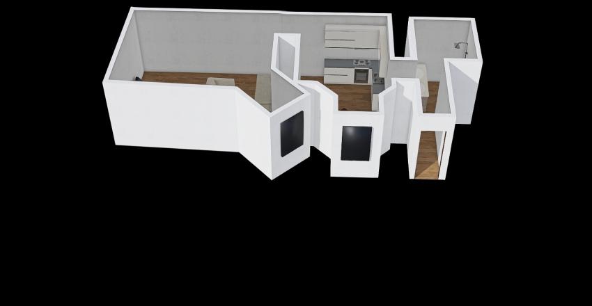 dietla 63 wynajem Interior Design Render