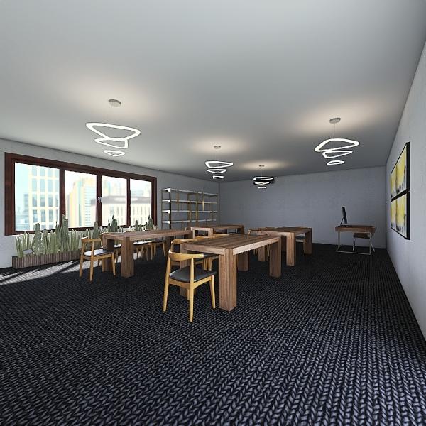 Classroom 1 Interior Design Render