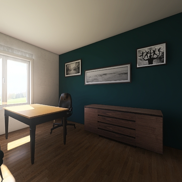 biuro Interior Design Render