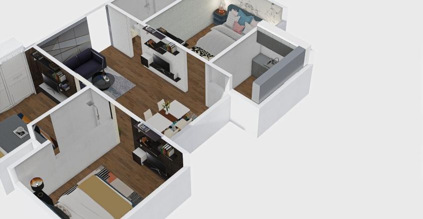 S FLOOR -01 Interior Design Render