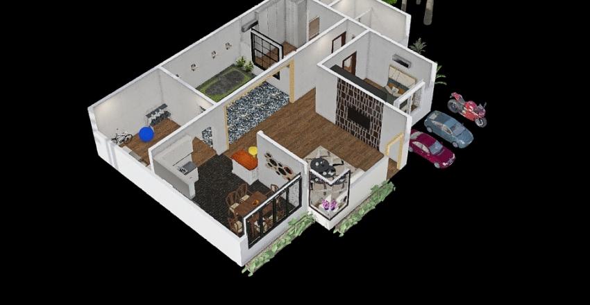 house* Interior Design Render