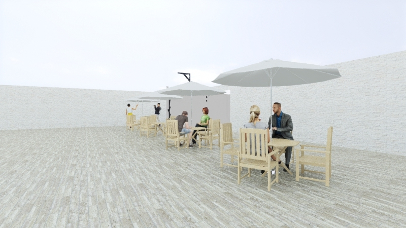 Salão Festas RN 001 Interior Design Render