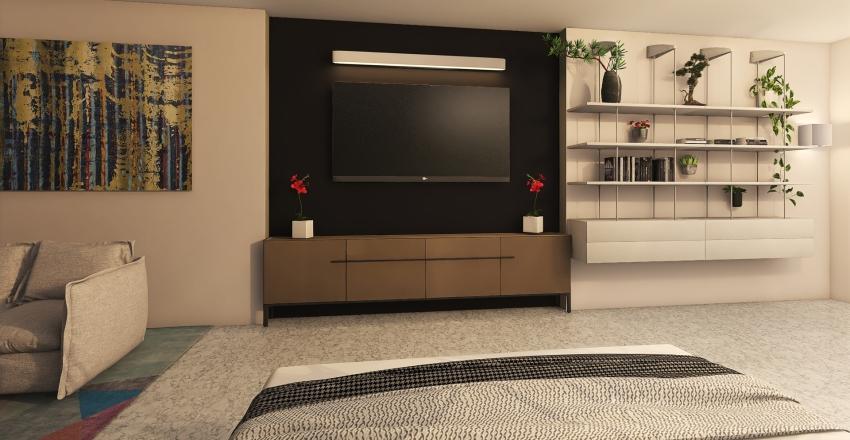 bed room idea Interior Design Render