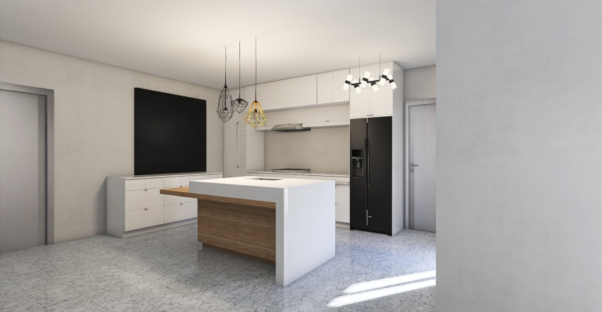 emilio yeles 150m2 Interior Design Render