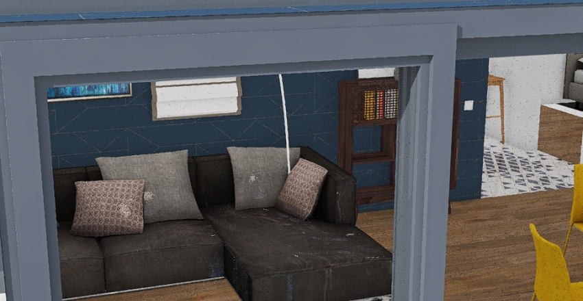 design version with living room from october 7 Interior Design Render
