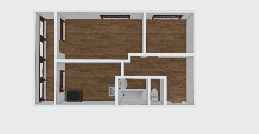 2-комн_0407 Interior Design Render