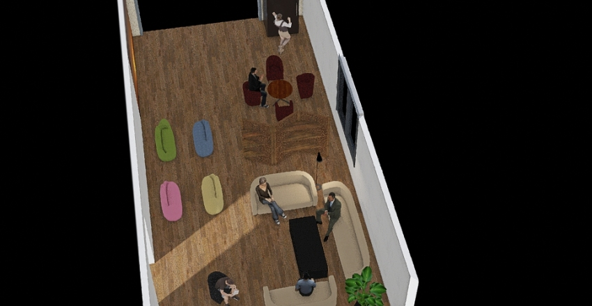 SDCEM Cosy Chill  Interior Design Render