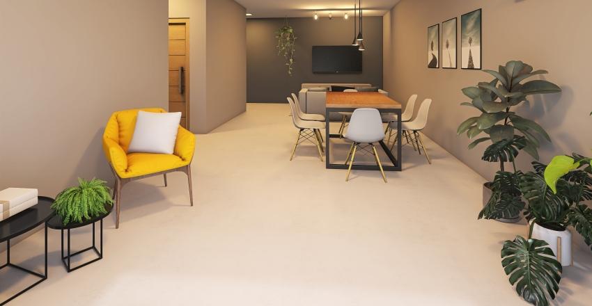 Home Mãe Interior Design Render